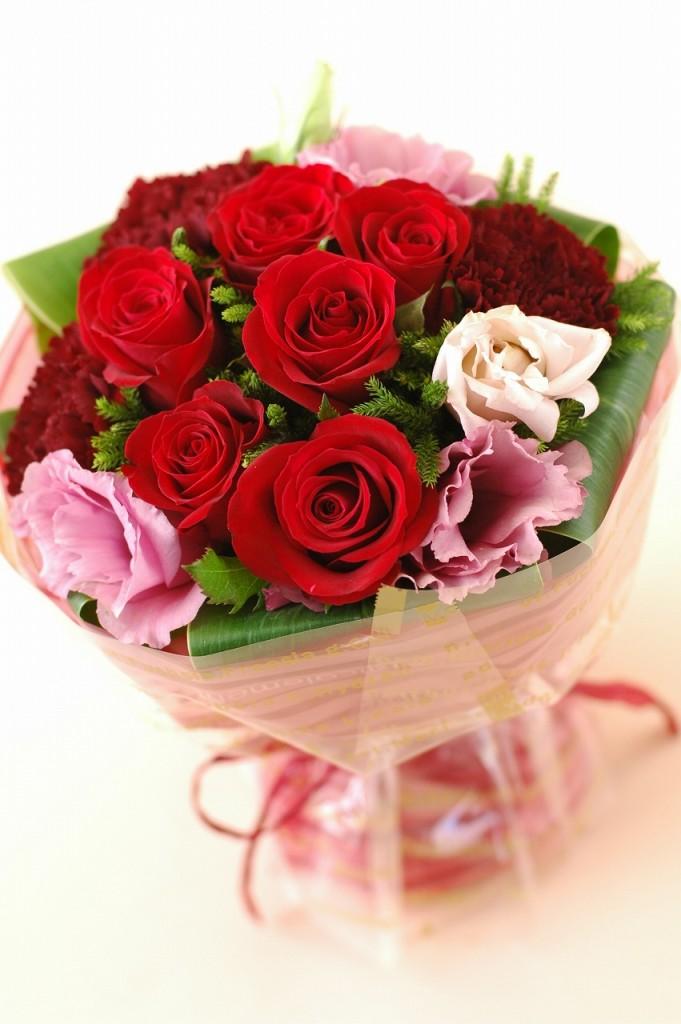 薔薇がいっぱい!ローズマジカルブーケ【レッド系】