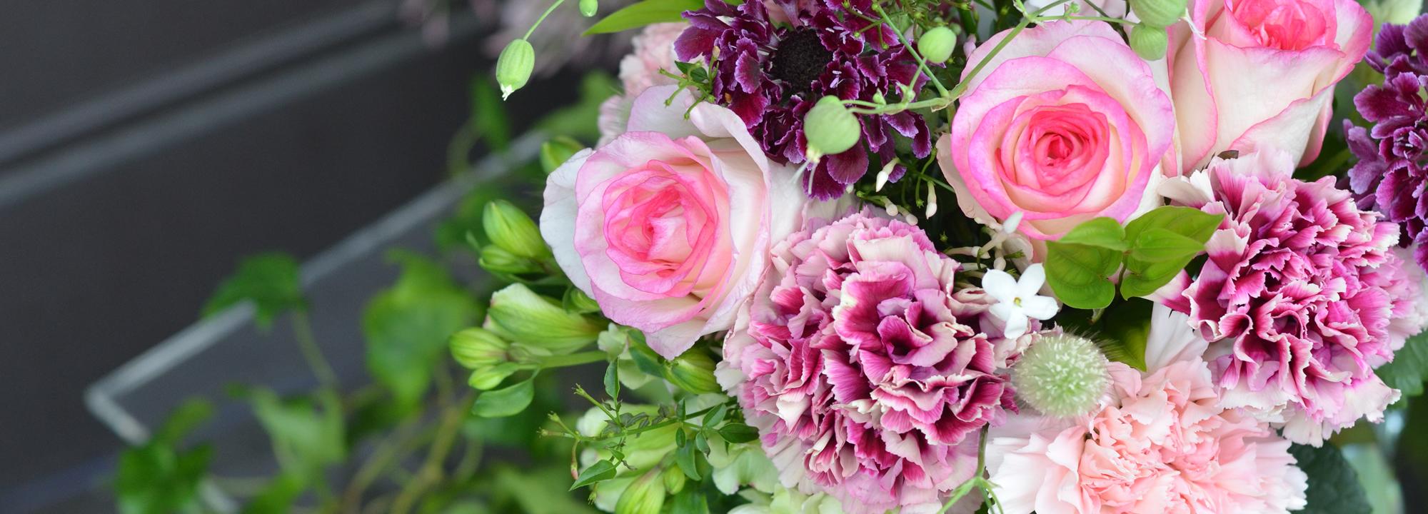 母の日の<br>花贈りはこちらから<br>