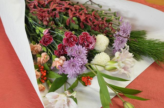 【生花切花】お正月福束花